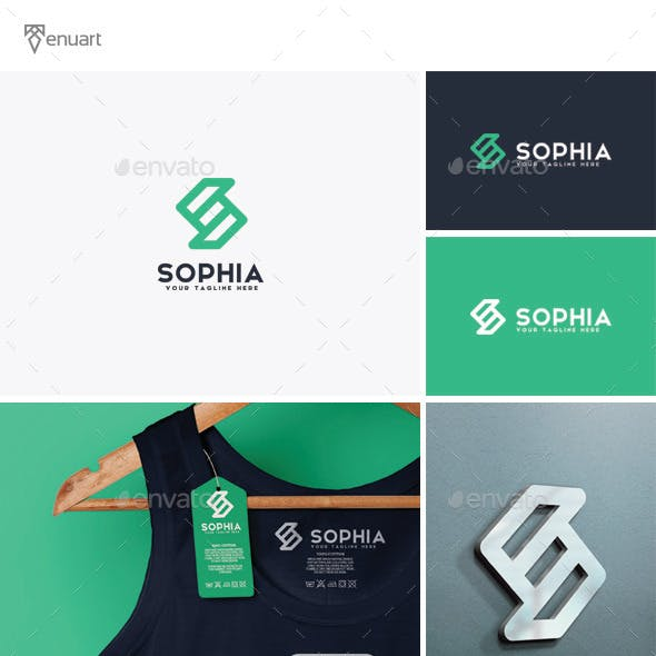 Sophia - Letter S Logo