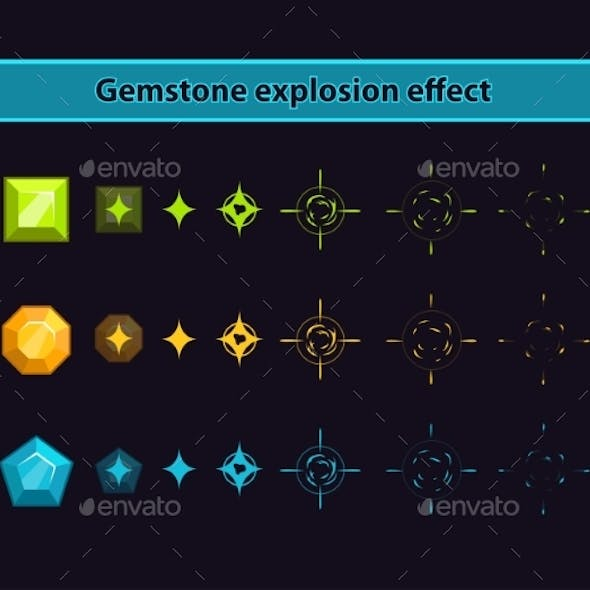 Gemstone Explosion Effect