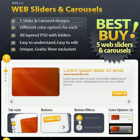Web Sliders & Carrousels