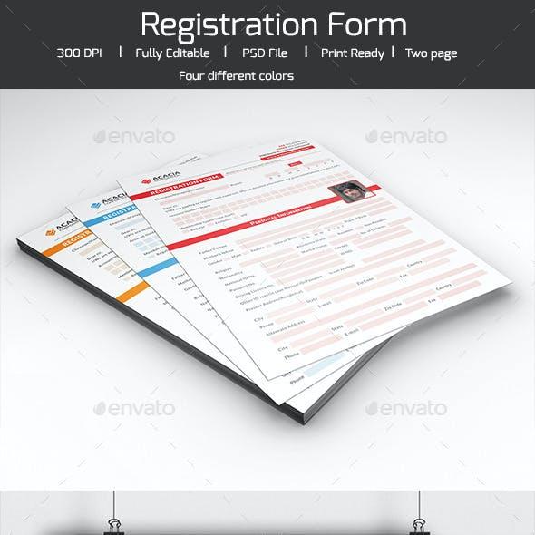 Registration Form V-03