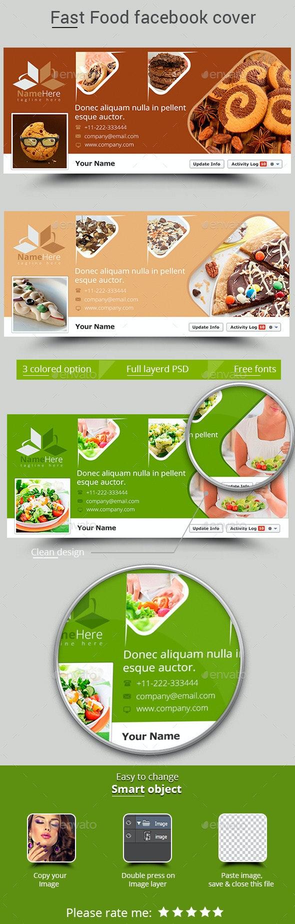 Fast Food Facebook Cover - Facebook Timeline Covers Social Media