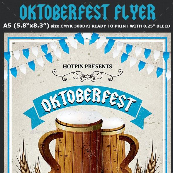 Oktoberfest Flyer Template 4