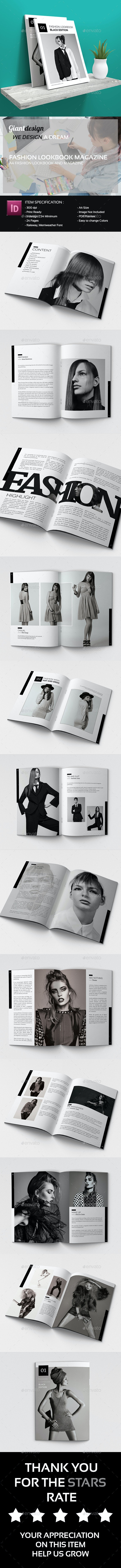 Fashion Lookbook And Magazines - Catalogs Brochures