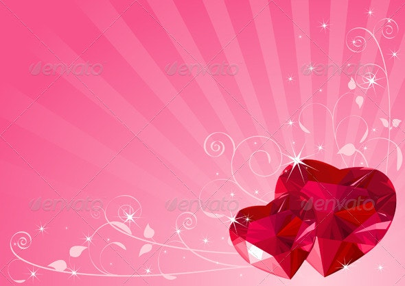 Valentine heart background - Valentines Seasons/Holidays