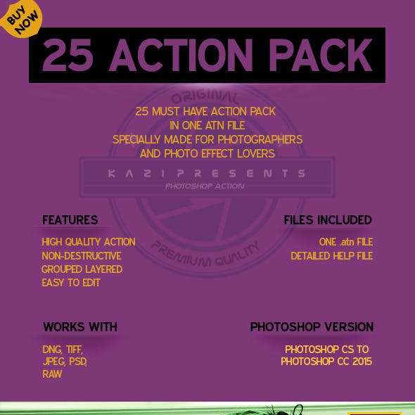 25 Action Pack