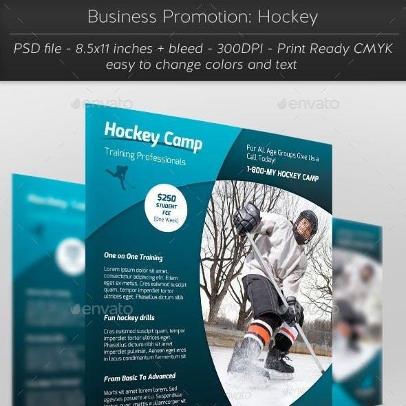 Business Promotion: Hockey