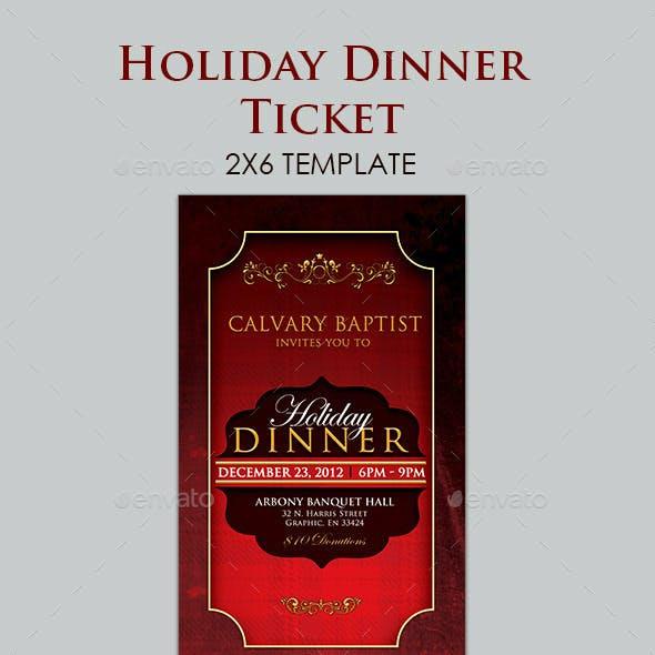 Holiday Dinner Ticket