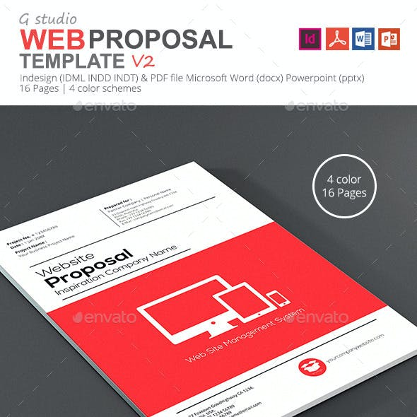 Gstudio Web Proposal Template V2
