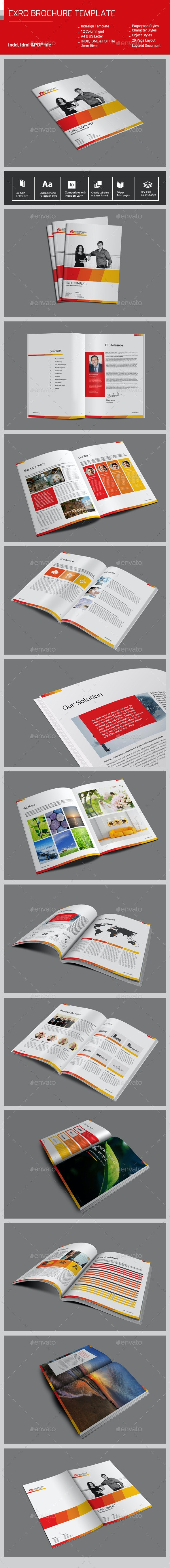 Exro BrochureTemplate - Corporate Brochures