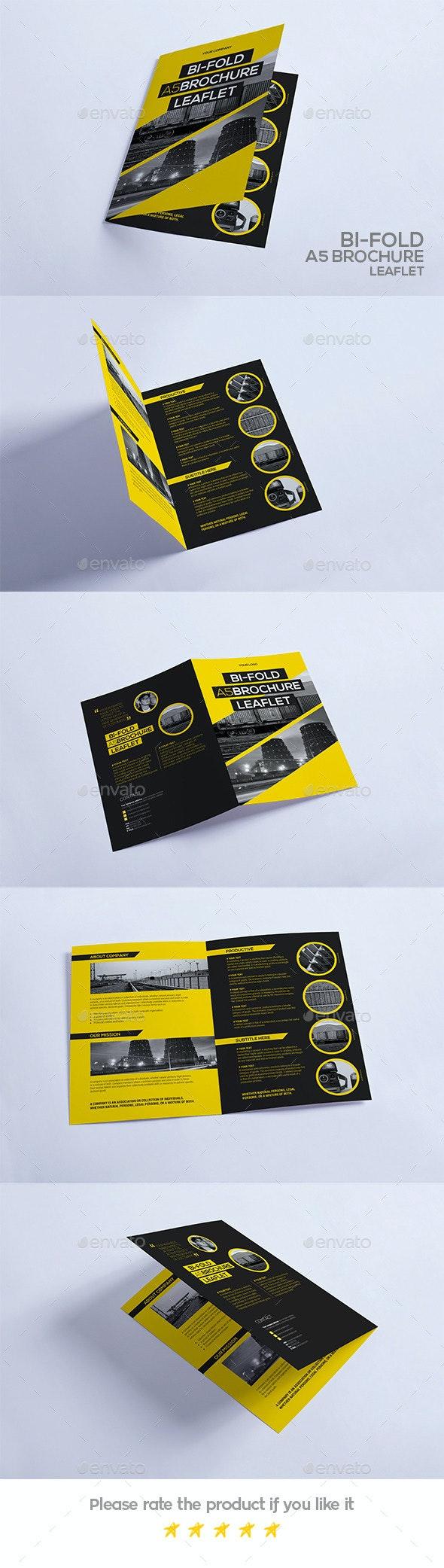 Bi-Fold A5 Brochure - Leaflet - Portfolio Brochures