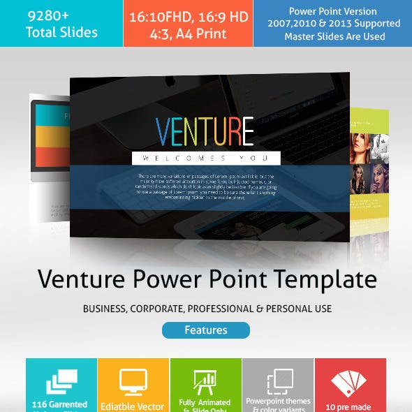 Venture Power Point Presentation