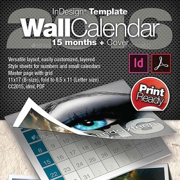 2016 Corporate Calendar
