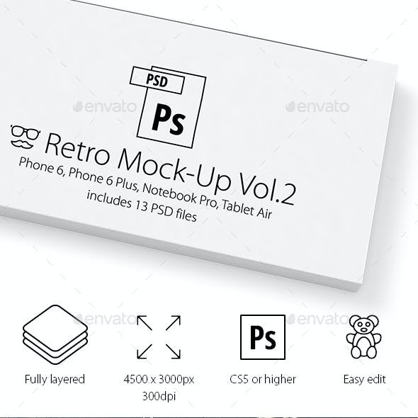 13 Devices Hipster Mock-Ups Vol.2
