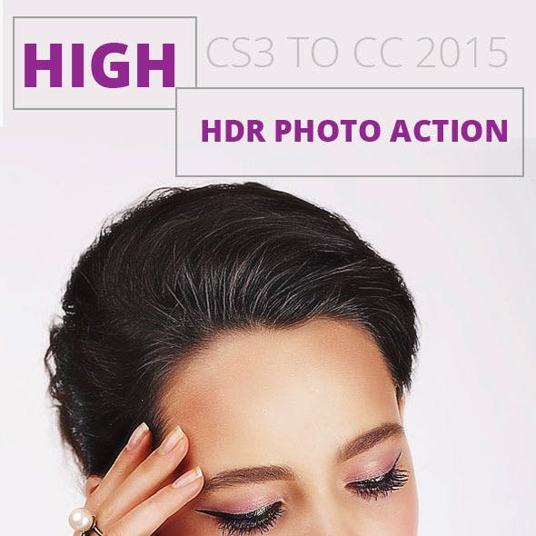 High HDR Photo Action