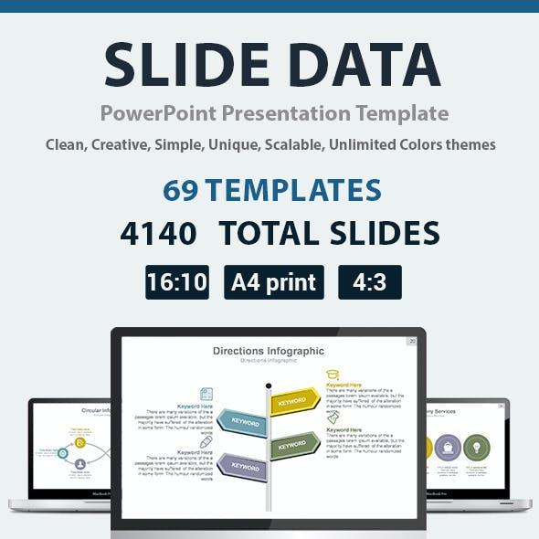 Slide Data PowerPoint Presentation Template