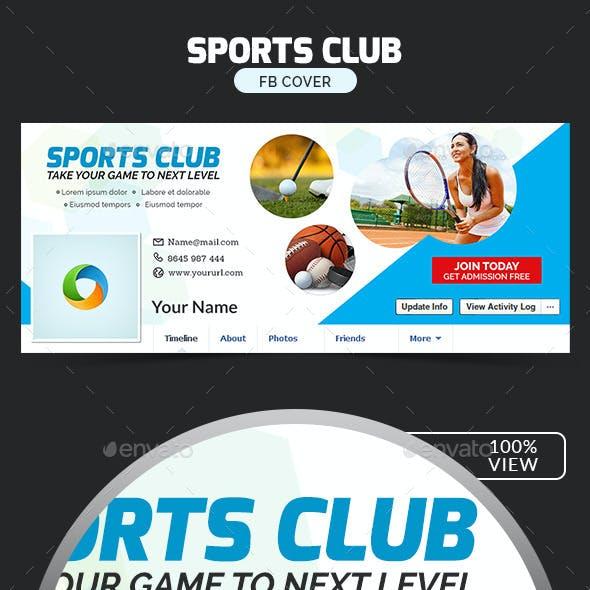 Sports Club Facebook Cover