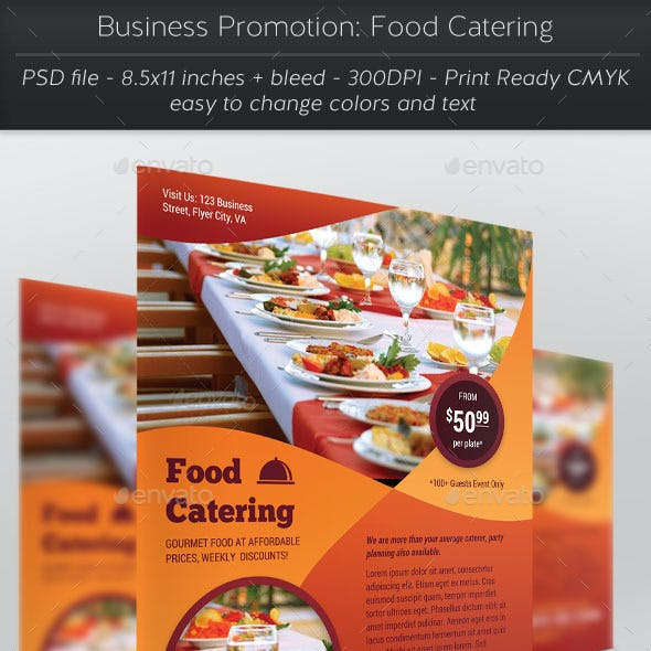 Business Promotion: Food Catering