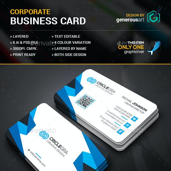 Criclegra Business Card