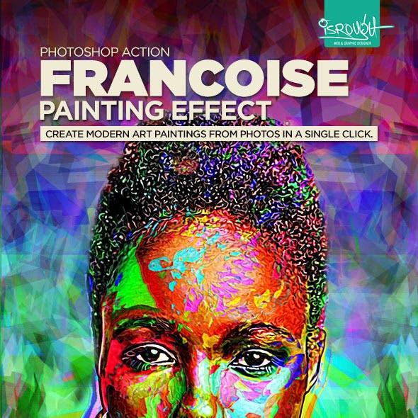 Francoise Painting Effect