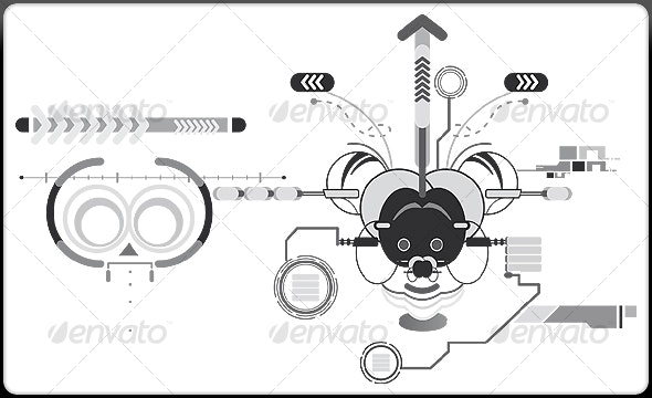 Abstract Mouse - Decorative Vectors