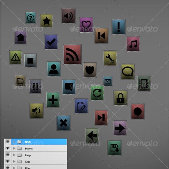 Metal Box Icons