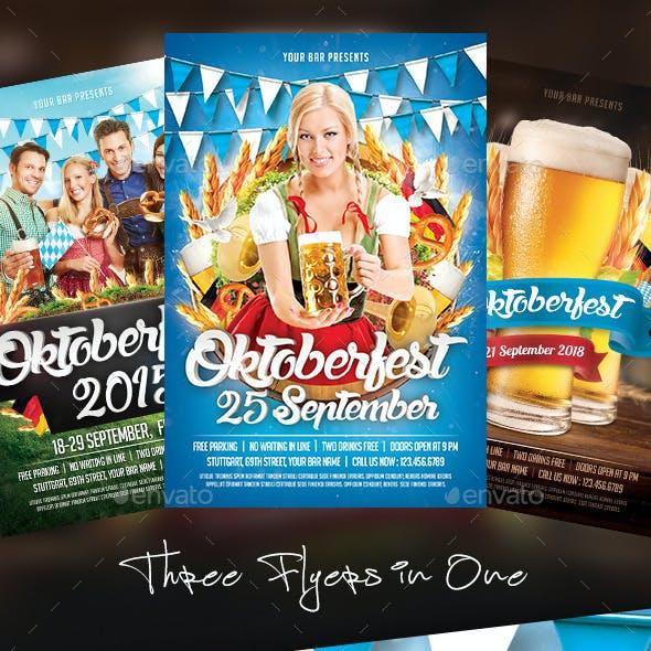 Oktoberfest Flyer Bundle