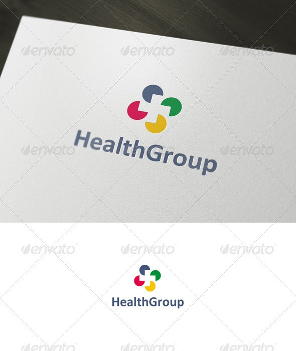 Health Group Logo - Symbols Logo Templates
