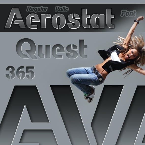 Aerostat Font