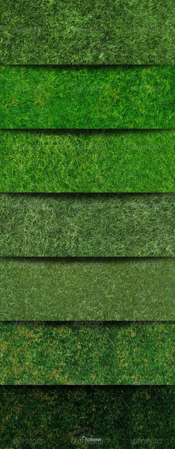 Seamless Grass Textures - Nature Textures