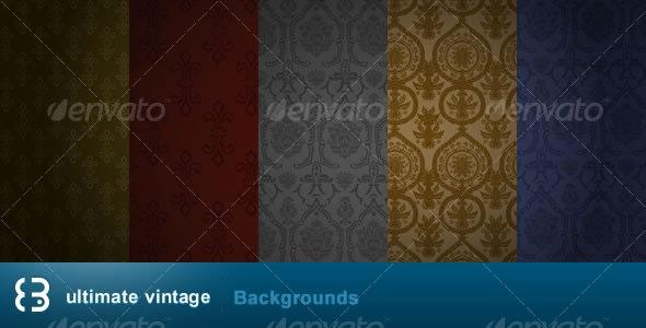 ULTIMATE VINTAGE BACKGROUNDS - Backgrounds Graphics