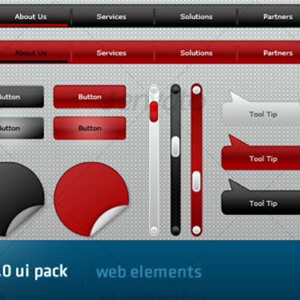 Elite Web 2.0 UI Pack