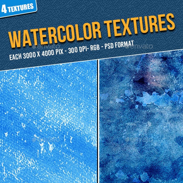 Watercolor Texture Pack 77