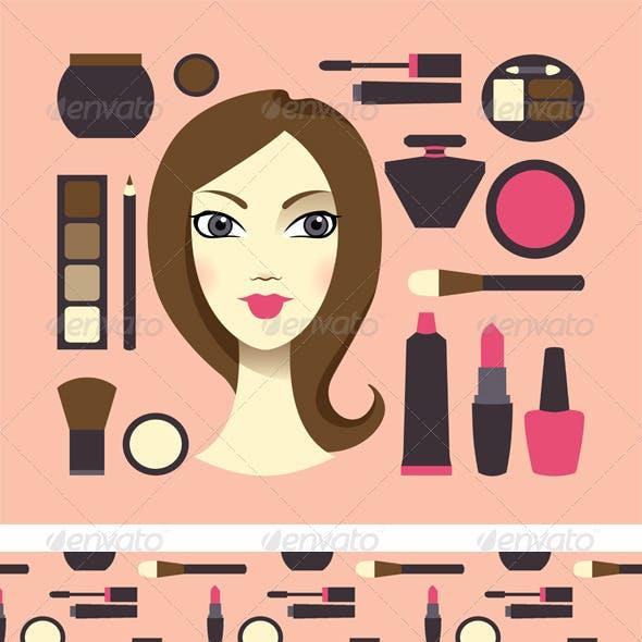 Cosmetics & Woman