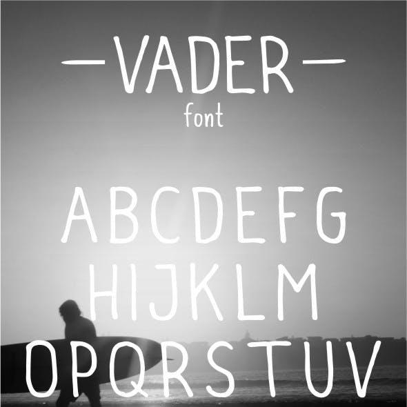 Vader Typeface