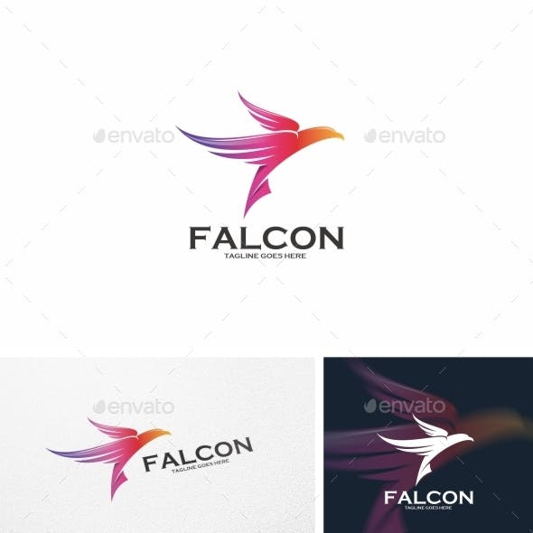 Falcon / Bird - Logo Template