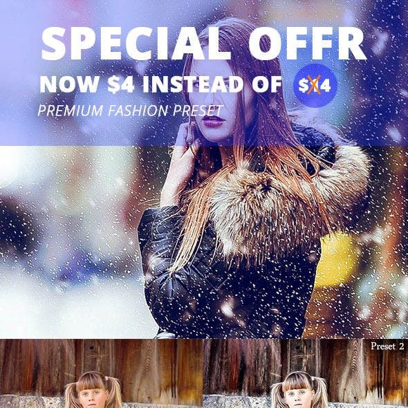 25 Premium Fashion Preset Vol.3
