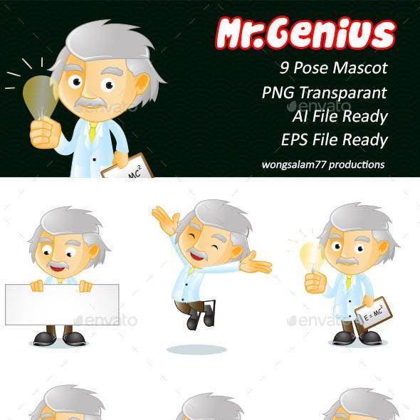 Mr. Genius Illustration