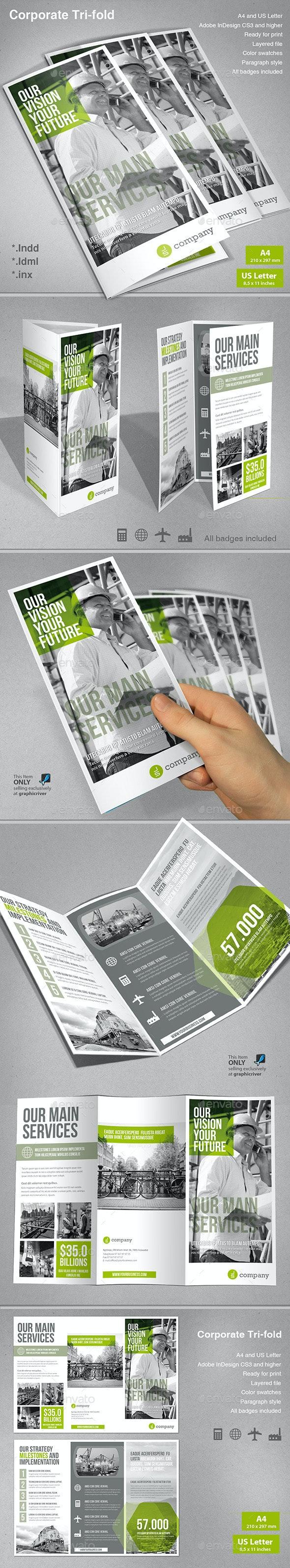 Corporate Tri-fold - Corporate Brochures