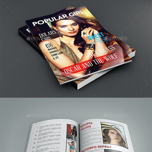 Popularte Travel Magazine Template