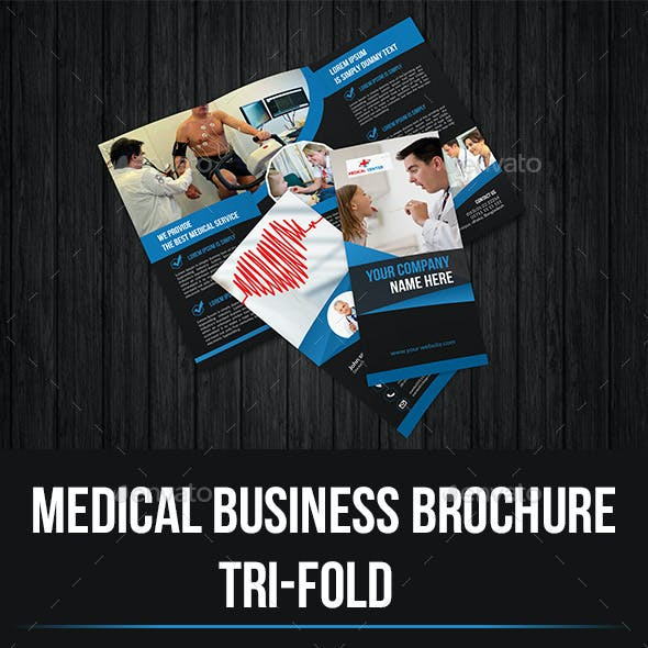 Medical Business Trifold Brochure