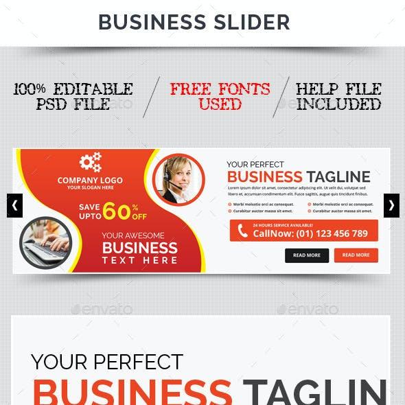 Business Slider V34