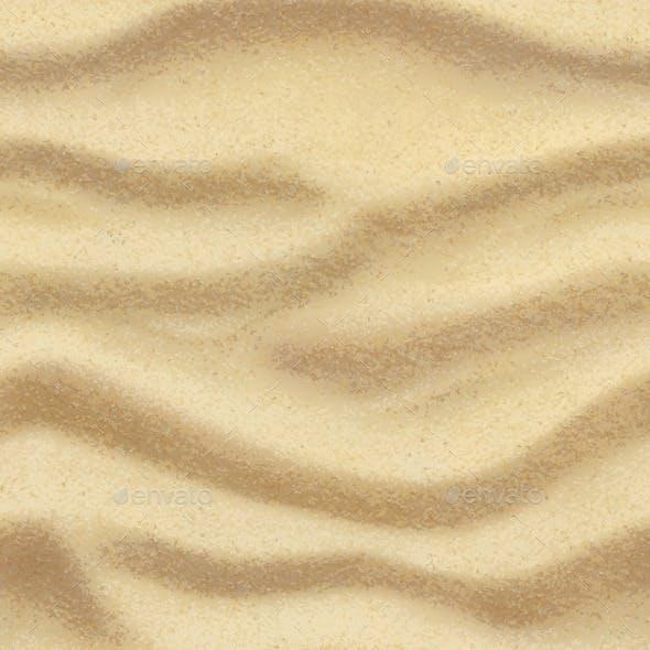 Sand Seamless Background