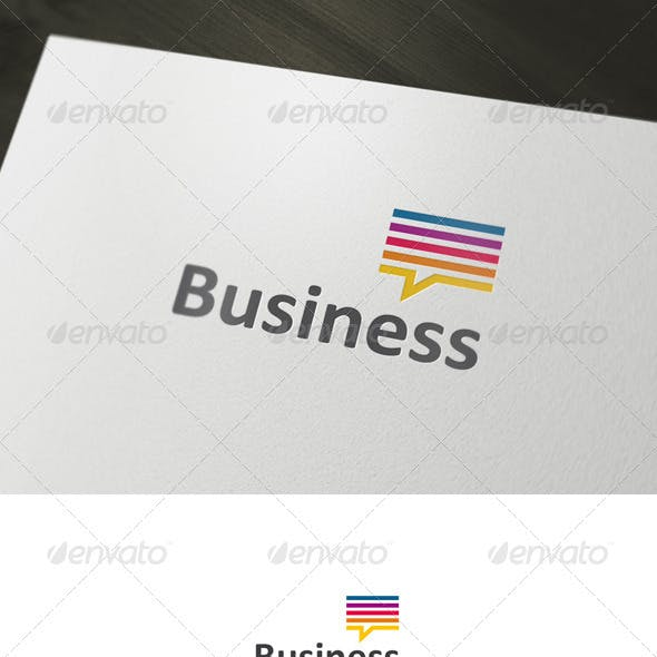 Business Chat Logo