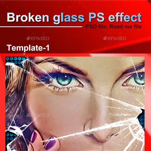 Broken Glass Template