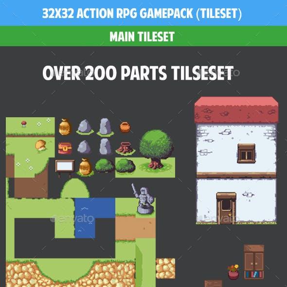 32x32 Acttion rpg gamepack (tileset)