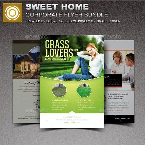 Sweet Home Corporate Flyer Bundle