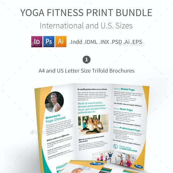 Yoga Fitness Print Bundle