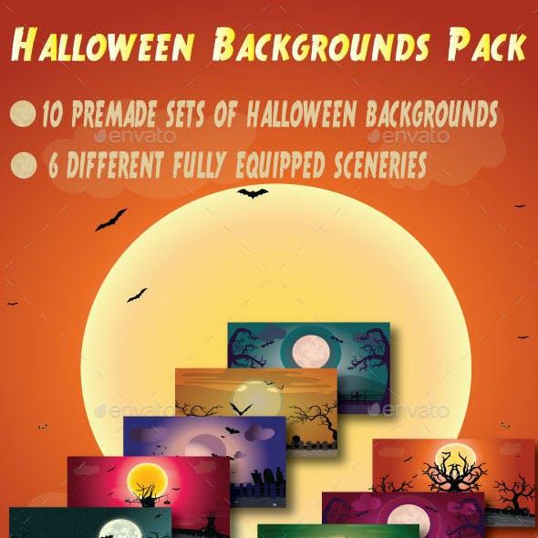 Halloween Background Pack