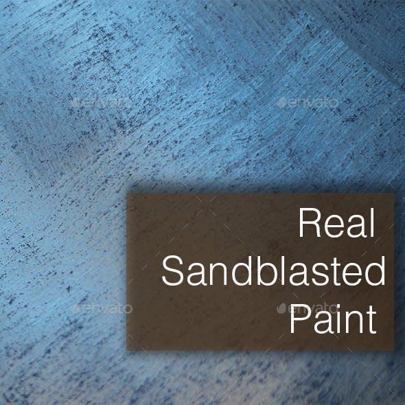 Sandblasted painting texture background