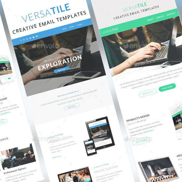 Versatile - Email Newsletter Template